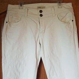 Women's Cabi white jeans